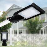 Оригинал 50W LED Солнечная Уличный фонарь 4000LUM Super Bright На открытом воздухе Сад Path Road Лампа