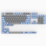 Оригинал Maxkey 127 Key Blue Grey SA Профиль ABS Набор ключей Keycap для Механический Клавиатура
