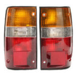 Оригинал Авто Задний фонарь Лампа Пара для пикапа Toyoto Hilux MK3 LN RN YN 2 4WD 1989-1994
