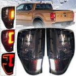 Оригинал Авто LED Задний фонарь для FORD Ranger Raptor T6/T7 / PX / MK1/MK2 / WILDTRAK 2012-2019