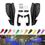 Оригинал мотоцикл 22 мм Handbar Hand Guards Мотокросс Handguard Защитник Защита Грязи Велосипед Яма Велосипед ATV Quads