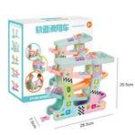 Оригинал Puzzle Fun Glider Track Парковка Пластиковые Детские Игрушки Развивающие Развивающие Блоки Игрушки