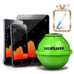 Оригинал LUCKYFF91650M2.4GHzWiFiFish Finder Портативный беспроводной цветной экран LCD Дисплей Sonar УмныйИскательРыбы