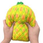 Оригинал 10.6дюймовый ананас Squishy Squishy 27см фруктовая коллекция медленных игрушек
