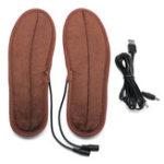 Оригинал USBстелькисподогревомзимойзимняя обувь Нагреватель дышащие моющиеся подушечки для ног
