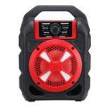 Оригинал Портативный 9W Bluetooth Беспроводной динамик Colorful Light Hifi Stereo На открытом воздухе Гарнитура с микрофоном и поддержкой FM TF USB AUX