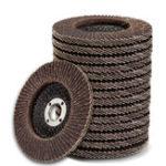 Оригинал 10шт 100мм 80 зернистости лоскут шлифовальный диск 4 дюймов угловая шлифовальная круг