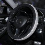 Оригинал 15 дюймов 38см Авто Крышки рулевого колеса универсальные с хрусталем из хрусталя
