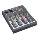 Оригинал Портативный 4-канальный USB Audio Mixer Bluetooth Live Stage Audio Микшерный пульт