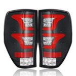Оригинал LED Авто Задний фонарь с проводами лампочек Blcak крышка для Ford Ranger Raptor T6 T7 PX MK1 MK2 Wildtrak 12-18