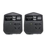 Оригинал 200 Вт 12 В / 24 В Для 220 В Авто Инвертор 2 USB 2 Универсальный Разъем Модифицированный Синусоидальный Преобразователь