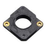 Оригинал 54 * 54 * 6 мм Черный Nema17 Кронштейн 42 степпера Мотор Амортизатор амортизатора для 3D-принтера