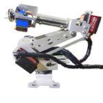 Оригинал 6DOF DIY RC Robot Arm Учебный робот Набор с цифровым Сервопривод