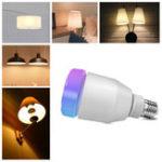 Оригинал AC100-240V E27 RGBW LED Bluetooth Лампочка для музыкальных колонок + 24 клавиши IR Дистанционное Управление