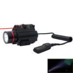 Оригинал SBEDAR9908RLEDЛазерПрицелНа открытом воздухе Охота 3 режима Тактический красный Лазер / Прицел Combo Инфракрасный фонарик