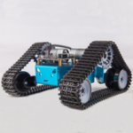Оригинал Kittenbot DIY RC Robot Авто Бак пластиковый гусеничный Ремень Обучающий комплект с DC Мотор