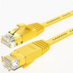 Оригинал SAMZHE 1 ~ 10M CAT6 UTP 1000 Мбит / с Гигабитный плоский RJ45 Соединительный кабель Ethernet Сетевой кабель LAN