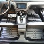 Оригинал 3шт искусственная кожа полный корпус Авто напольный коврик передний задний вкладыш Водонепроницаемы для Hyundai Elantra 2011-2016