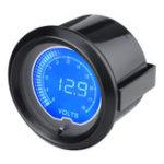 Оригинал 12V 2inch 52mm 7Color LCD Электронный цифровой LED измеритель напряжения