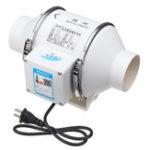 Оригинал 220 В 35 Вт 3 дюймов Inline Duct Гидропоника Вентилятор системы вентиляции Выпускной вентилятор