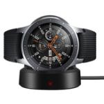Оригинал Магнитное адсорбционное беспроводное зарядное устройство для зарядки док-станции для Samsung Galaxy Watch 42mm / 46mm 2018