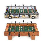 Оригинал 6жезловдляигрывнастольный футбол 2 игрока футбольный конкурс мини-набор спортивных игрушек