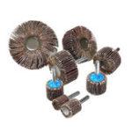 Оригинал 15-80 мм 80 зернистости шлифовальный диск диск абразивный шлифовальный круг аксессуары Инструмент хвостовик 6 мм для Дрель