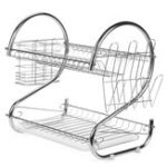 Оригинал Многофункциональный 2-х уровневый кухонный стол с посудой