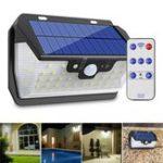 Оригинал 55 LED Солнечная Motion Датчик Light 3 режима На открытом воздухе Защитная стена Лампа USB зарядка