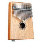 Оригинал 17 клавиш EQ C Tone Красное дерево Калимба Thumb Piano Finger Перкуссия с раскладкой