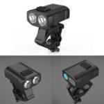 Оригинал XANES®DL211200LM2-XPELEDВелосипедный налобный фонарь Водонепроницаемы Велосипедный передний свет 3000 мАч 5 режимов Зарядка через USB Н