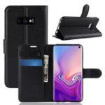 Оригинал PUкожаныйбумажникKickstandФлипЗащитный Чехол Для Samsung Galaxy S10 Lite 5.8 дюймов