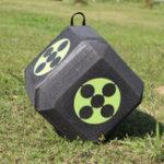 Оригинал 23*23*23см Полиэдральная 3D стрельба из лука с высокой плотностью и само заживлением Cube