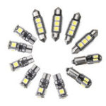 Оригинал 12PCS Авто Интерьер LED Фары Набор T10 BA9S Гирлянда Dome Лампа белого цвета для BMW E36 3 Serie Convertible 1992-1998
