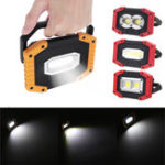 Оригинал IPRee® 30W USB LED COB Outdoor Portable Work Light Camping Emergency Lantern Flashlight Spotlight Searchlight