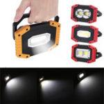 Оригинал IPRee® 30W USB LED COB Outdoor Portable Work Light Camping Emergency Lantern Flashlight Spotlight Searchlight