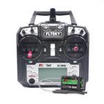 Оригинал Flysky FS-TM10 2.4G 10CH AFHDS RC передатчик черный с FS A8S / IA10B / IA6B Приемник