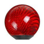 Оригинал Универсальная Авто круглая шариковая ручка переключения передач черный красный Автоbon Fiber