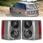 Оригинал Авто Задний фонарь в сборе Задний тормоз Лампа Черный + Черный слева / справа для Range Rover Vogue L322 2002-2009