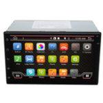 Оригинал 7 дюймов Android 6,0 Double 2 DIN Sat Navigation Авто GPS навигация Stereo DAB