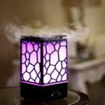 Оригинал Water Cube Ароматерапевтическая машина Увлажнитель Aroma Диффузор Ультразвуковая ароматерапия Туман Maker for Home Office Kids