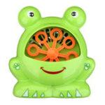 Оригинал Автоматическая Пузырьковая Машина Big Frog Bubble Maker Blower Music Ванна Игрушка Для Детей