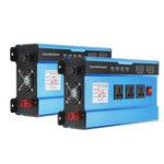 Оригинал Преобразователь переменного тока в постоянный 12 В в переменный 220 В Инвертор 4000 Вт Пик Авто Инвертор LED Дисплей