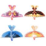 Оригинал 10.6 Дюймов Электрический Летающий Хлопая Крыло Птица Игрушка Аккумуляторная Самолет Игрушки Дети На открытом воздухе Fly Toy