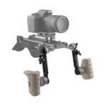 Оригинал KEMO C1883 Двойной удлинитель с удлинителем M6 для установки в розетку для стабилизатора ARRI камера