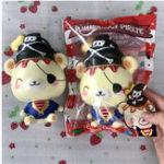 Оригинал Yummiibear Creamiicandy Пиратская Squishy Медленно растущая игрушка с оригинальной упаковкой подарочной коллекции