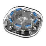 Оригинал Orico H7U Прозрачный 7-портовый USB 3.0 концентратор с портом питания Micro USB