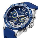 Оригинал MEGIR2083GВоенныйДизайнХронографМужские кварцевые часы