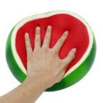 Оригинал 9.3-дюймовая коллекция арбузов Squishy Huge Jumbo Squeeze Медленно растущая коллекция игрушек