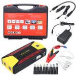 Оригинал 89800mAh 4 USB Авто Jump Starter Портативное зарядное устройство Батарея Power Bank Набор